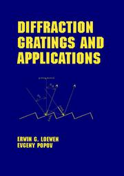 Diffraction Gratings and Applications - 1st Edition book cover