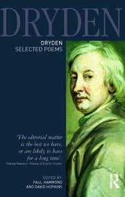 Dryden:Selected Poems - 1st Edition book cover