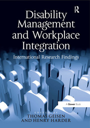 Disability Management and Workplace Integration - 1st Edition book cover