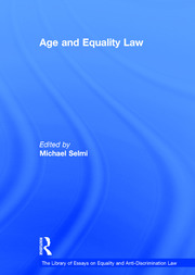 Age and Equality Law - 1st Edition book cover