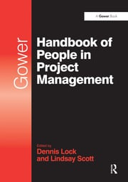 Gower Handbook of People in Project Management - 1st Edition book cover