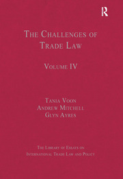 The Challenges of Trade Law - 1st Edition book cover