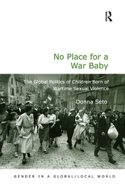 No Place for a War Baby - 1st Edition book cover