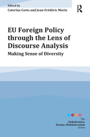 EU Foreign Policy through the Lens of Discourse Analysis - 1st Edition book cover