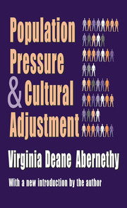 Population Pressure and Cultural Adjustment - 1st Edition book cover