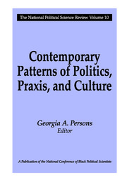 Contemporary Patterns of Politics, Praxis, and Culture - 1st Edition book cover