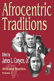 Afrocentric Traditions - 1st Edition book cover