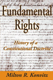 Fundamental Rights - 1st Edition book cover