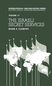 Israeli Secret Services - 1st Edition book cover