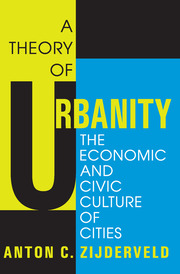 A Theory of Urbanity - 1st Edition book cover