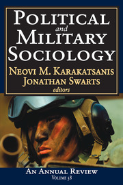 Political and Military Sociology - 1st Edition book cover