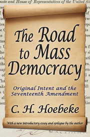The Road to Mass Democracy - 1st Edition book cover