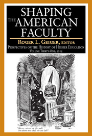 Shaping the American Faculty - 1st Edition book cover