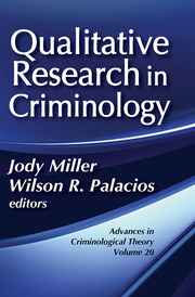Qualitative Research in Criminology - 1st Edition book cover