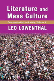 Literature and Mass Culture - 1st Edition book cover
