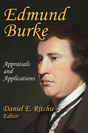 Edmund Burke - 1st Edition book cover