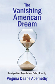 The Vanishing American Dream - 1st Edition book cover