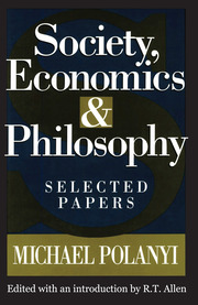 Society, Economics, and Philosophy - 1st Edition book cover