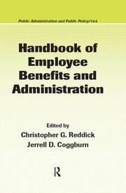Handbook of Employee Benefits and Administration