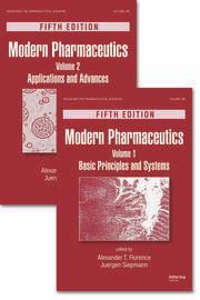 Modern Pharmaceutics, Two Volume Set