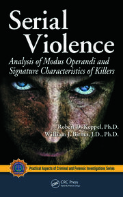 Serial Violence - 1st Edition book cover