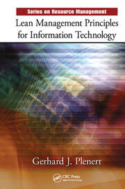 Lean Management Principles for Information Technology - 1st Edition book cover
