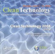 Clean Technology 2008 - 1st Edition book cover