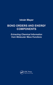 Bond Orders and Energy Components - 1st Edition book cover