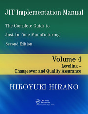 JIT Implementation Manual -- The Complete Guide to Just-In-Time Manufacturing - 2nd Edition book cover