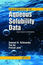 Handbook of Aqueous Solubility Data