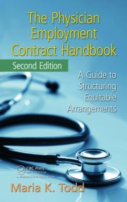 The Physician Employment Contract Handbook - 2nd Edition book cover