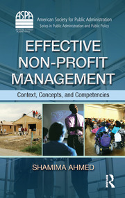 Effective Non-Profit Management: Context, Concepts, and Competencies