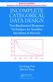 Incomplete Categorical Data Design: Non-Randomized Response Techniques for Sensitive Questions in Surveys