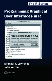 Programming Graphical User Interfaces in R - 1st Edition book cover