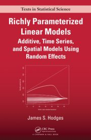 Richly Parameterized Linear Models: Additive, Time Series, and Spatial Models Using Random Effects