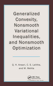 Generalized Convexity, Nonsmooth Variational Inequalities, and Nonsmooth Optimization