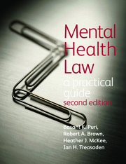 Mental Health Law 2E A Practical Guide