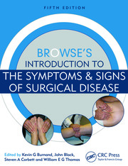 Browse's Introduction to the Symptoms & Signs of Surgical Disease - 5th Edition book cover