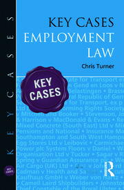 Key Cases: Employment Law - 1st Edition book cover