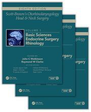 Scott-Brown's Otorhinolaryngology and Head and Neck Surgery, Eighth Edition: 3 volume set