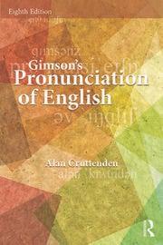 Gimson's Pronunciation of English - 8th Edition book cover