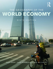 The Geography of the World Economy - 6th Edition book cover