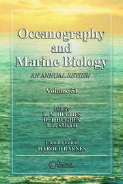 Oceanography and Marine Biology: An Annual Review, Volume 51