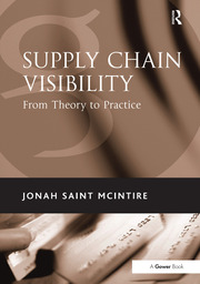Supply Chain Visibility - 1st Edition book cover