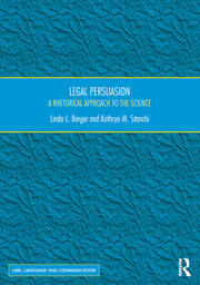 Legal Persuasion - 1st Edition book cover