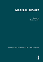 Marital Rights - 1st Edition book cover