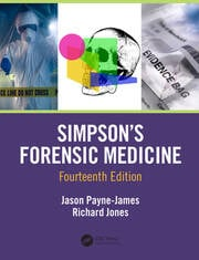 Simpson's Forensic Medicine, 14th Edition -  14th Edition book cover