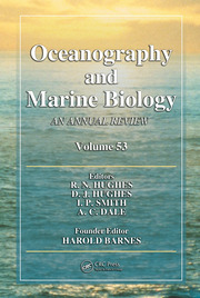 Oceanography and Marine Biology: An Annual Review, Volume 53