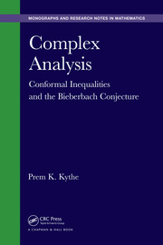 Complex Analysis: Conformal Inequalities and the Bieberbach Conjecture