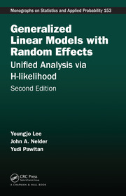 Generalized Linear Models with Random Effects: Unified Analysis via H-likelihood, Second Edition